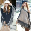 2012 Design Pullover Poncho Sweater