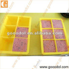 custom made silicone ice cube tray