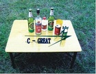 Folding Table,Outdoor Table,Wooden Table,Steel table FT001