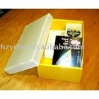 2012 new style PP hollow sheet foldable store case Corrugated Plastic Box with lid gift case(SY948)