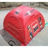 red inflatable airtight tent, inflatable outdoor tent