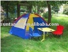 children kids beach tent set / folding table and chair tent set / portable table and stool set