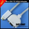 Mini dvi to vga female adapter