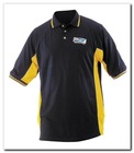 moisture wicking and anti-microbial finish polo