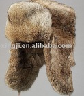 Natural Brown Rabbit Fur Hat