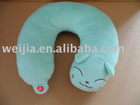 plush neck cushion/stuffed neck cushion/neck cushion