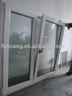 PVC tilt turn window ,Plastic window