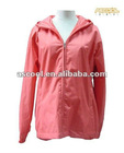 Women's waterproof Hooded raincoat