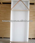 Kaiyang white primed pre-hung hdf molded wooden door design