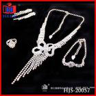 fashion diamond jewelry set
