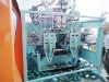 double station double layer full automatic high speed blow molding machine