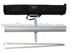 Retractable roll up stand,