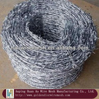 durable galvanized steel wire barbed wire mesh(2.0-3.0mm)