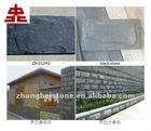 black slate mushroom stone/landscaping mushroom stone