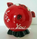 lovely pig coin bank