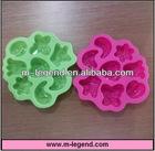 Fruit shape strawberry silicone ice tray mold