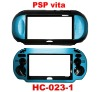 Plastic Protective Case for Game Machine Vita with Aluminum Decoration Plate
