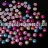 High Quality ABS/Plastic Half Pearl Beads (Mixed colors)