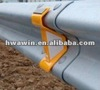 Highway guardrail reflector for road safety