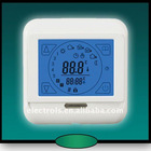 hand touch weekly programming room thermostat with LCD