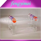 Acrylic desk/acrylic magazine rack/lucite coffee table/perspex console table
