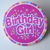 Birthday girl Button,Badge,metal button