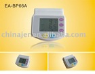 CE approved electronic wrist Blood Pressure Meter for personal care EA-BP66A