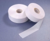 Semi-dull Slitted Edge Polyester Satin Label Fabric