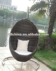 Rattan furniture wicker hanging chair
