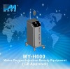 new ! MY-H600 Water facial Oxygen therapy / water oxygen jet peel Beauty Equipment (CE Approved)
