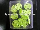 Green Protective Equipment Plastic Socket Buckle