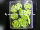 Green Protective Equipment Plastic Socket Buckle