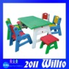 Food Grade Kids Table and Chairs WT-V157D