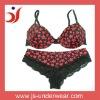 Printed ladies underwear bra new design