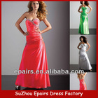 LND29 cheap amazing beaded long silk designer 2013 prom dress