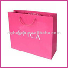 2013 OEM custom printed package bag with your brand logo for your unique fashions