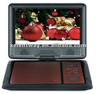 7.5 inch ISDB-T portable DVD player with TV