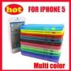 case for iphone 5,mobile phone case with soft silicone