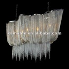 Modern Silver Chain Lighting Chandelier.Ka107