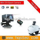 12.0 Mega Pixels AEE hero 3 gopro hd camera with wide-angle lens