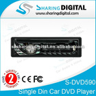 Sharing Digital Single Din DVD Player with Fold Down Detachable panel