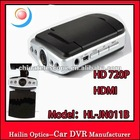 120 degree 5MP 4 LED Night Vision support HDMI H.264 HD DVR Car Video Recorder
