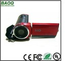 "1.3 Megapixel CMOS Sensor Digital Video Camera with 4x optical zoom and 2.4"" LCD"