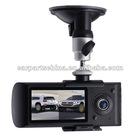X3000: 2ch Car Black box GPS Sensor car camera dvr gps