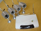 MMS alarm with 8 CH wireless camera &SD (1)