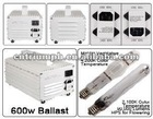 600W HPS/MH magnetic ballast hydroponic grow light kit