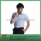 Fashion business men's short sleeve shirt