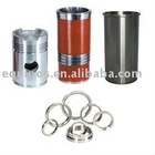marine engine spare cylinder liner, piston, piston ring