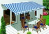 beautiful retractable awnings, one side