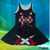 Sublimated netball uniforms for girls